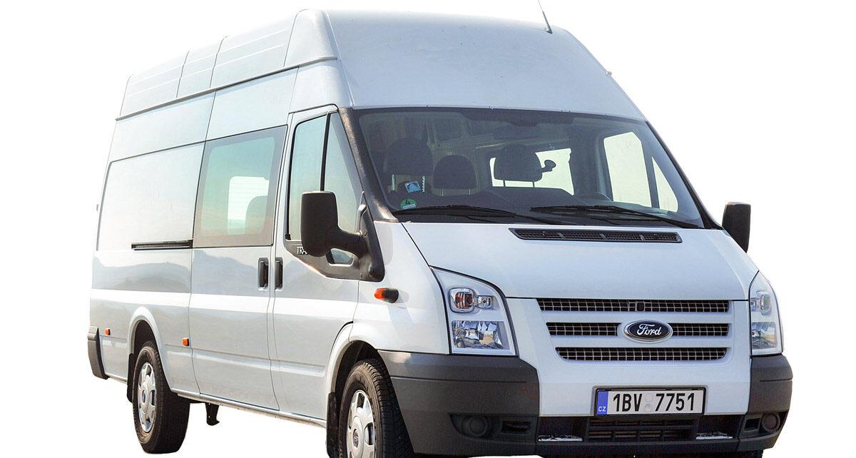 Ford Transit k pronájmu