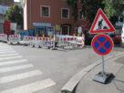 Při práci na silnici je velmi důležité dopravní značení